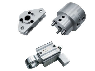 Special actuators for industrial sewing machines