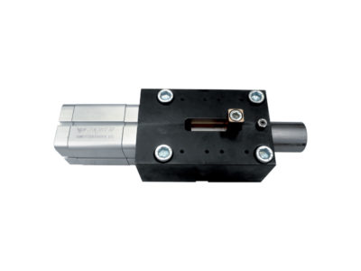 Special actuator for safety latch control for presses