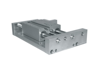 Special compact guided cylinder